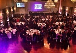 The New Jersey Press Association Better Newspaper Contest awards dinner in Hamilton on Thursday. (Bumper DeJesus | NJ Advance Media for NJ.com)