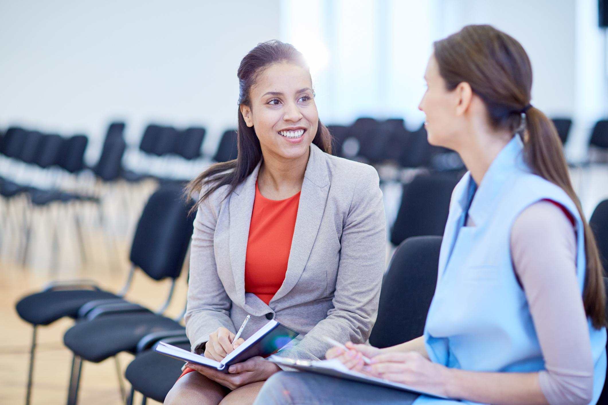Women planning work